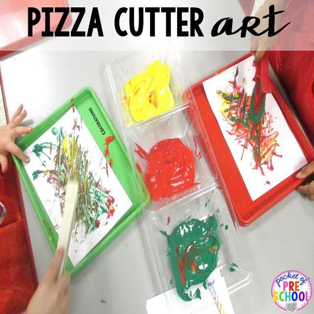 Pizza Centers for Preschool, Pre-K, and Kindergarten - Pocket of Preschool
