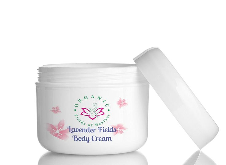 Lavender Fields-The Daily Moisturizing and Organic Body Cream that Heals Damaged Skin with Aloe Vera, Coconut,
