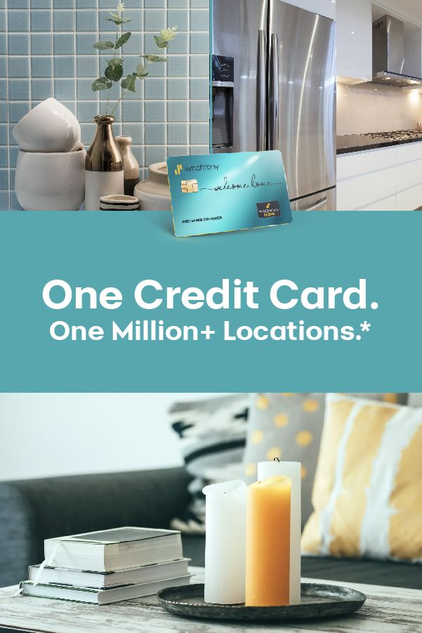 With The Synchrony Home Credit Card You Have A Convenient Way To Help Pay For Your Home Expenses You Can Earn 2 C In 2020 Home Financing Credit Card Credit Repair