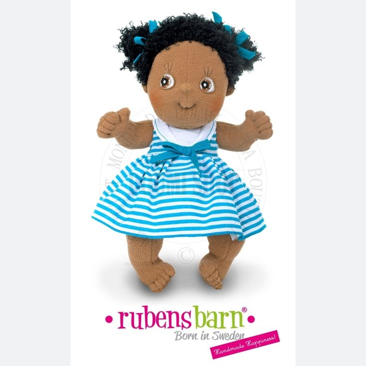 Afro natural hair doll