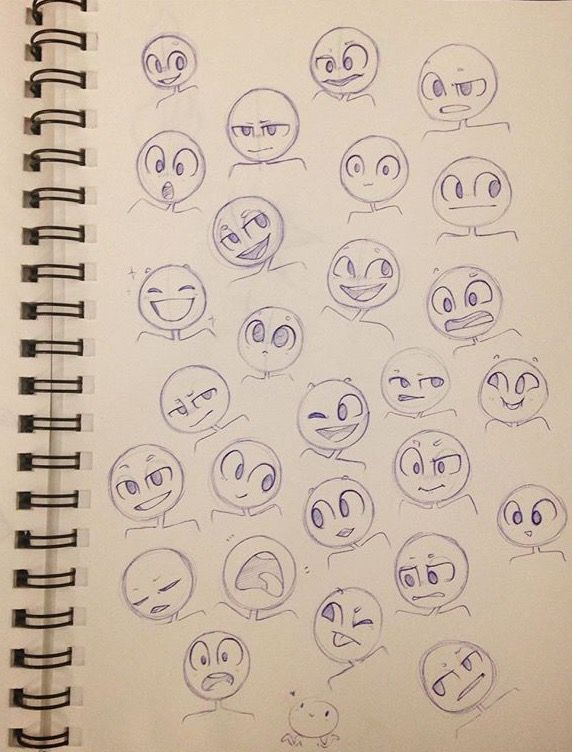 Expressions reference pose body fave