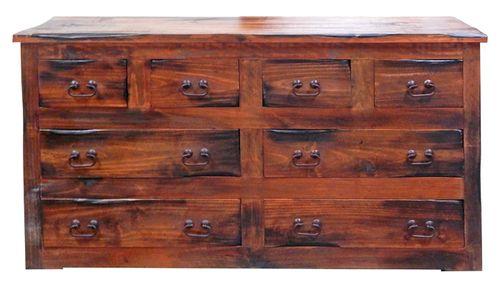 Rustic Santa Cruz Rough Cut Dresser