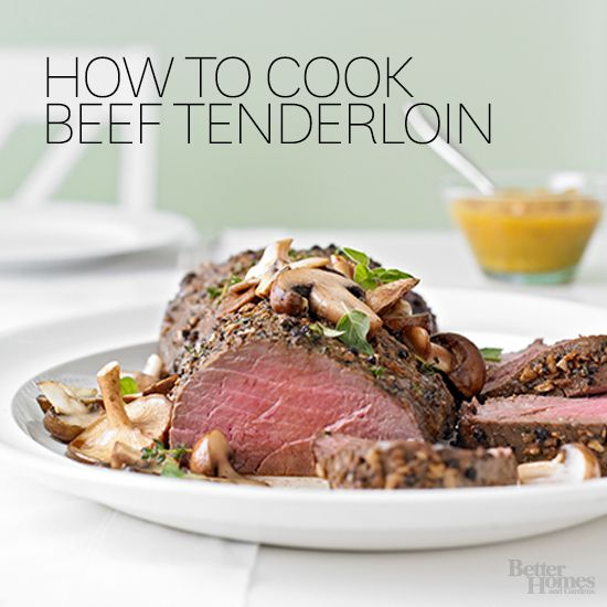 Hard to believe, but the holidays are just around the corner! Practice cooking your favorite beef tenderloin to wow your guests: http://www.bhg.com/recipes/how-to/handling-meat/how-to-cook-beef-tenderloin/?socsrc=bhgpin080614howtocookbeeftenderloin