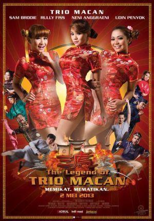 Tak berpuas diri hanya dengan menjadi penyanyi dangdut, trio ini mulai merambah dunia akting. Tak tanggung-tanggung, mereka langsung membintangi sebuah film layar lebar bertajuk THE LEGEND OF TRIO MACAN..