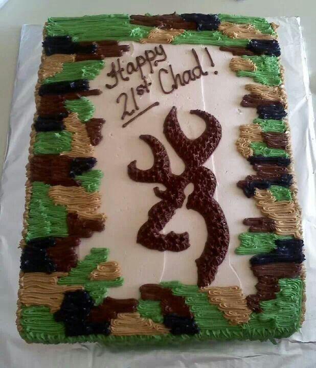 Camerons cake Deer cake