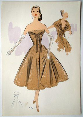 1950's fashion: it always seems so much more elegant than anytime since