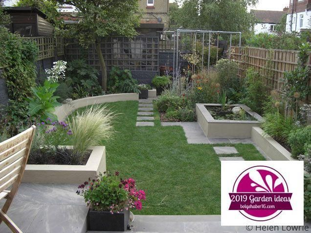 84 Best Small Backyard Ideas Images On Pinterest Small Garden Ideas Uk Gardeni Separ Large Backyard Landscaping Small Garden Design Small Backyard Gardens