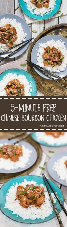 Everybody knows that delicious take-out Chinese Bourbon Chicken, right? Well…