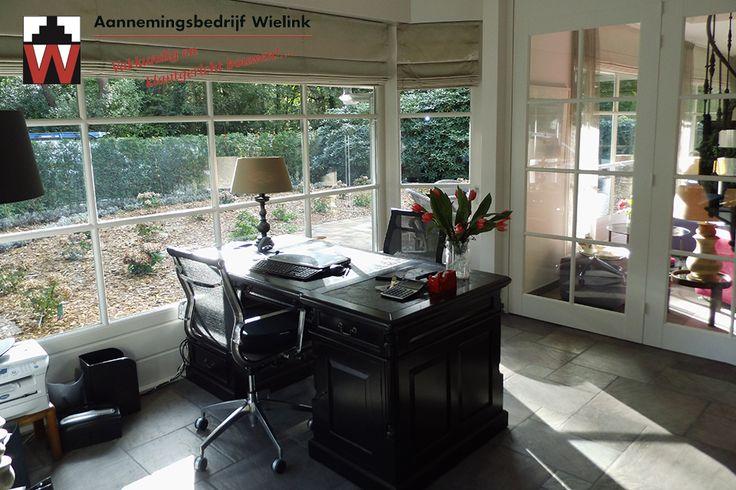 Villa landelijk met een moderne uitstraling ☆ studeerkamer / werkkamer ☆ klassiek bureau ☆