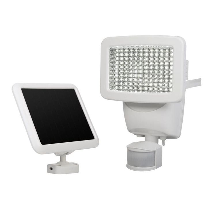 SunForce 120 LED Solar Motion Light, White