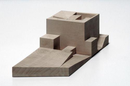conceptmodel: drdh architects - villa ordos 100 32 - china