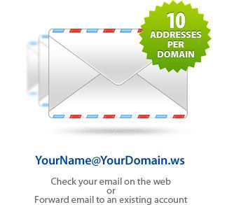 GDI WebMail allows me to use my own domain name as my email address and I can access my email through my account from any Internet connection in the world!