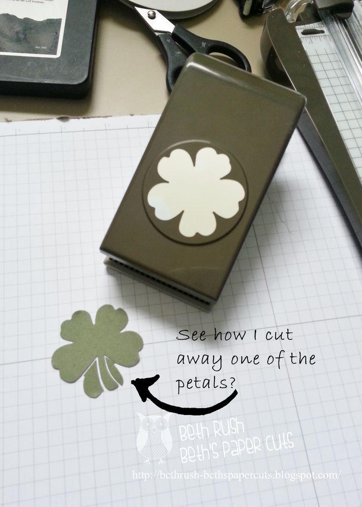 "Beth's Paper Cuts: St. Patrick's Day ""Hi!"""