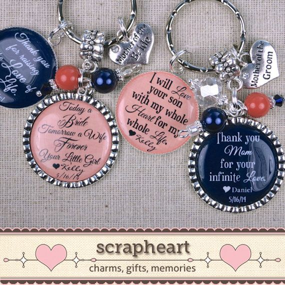 Wedding Gifts For Parents Thank You Gifts For by ScrapheartGifts