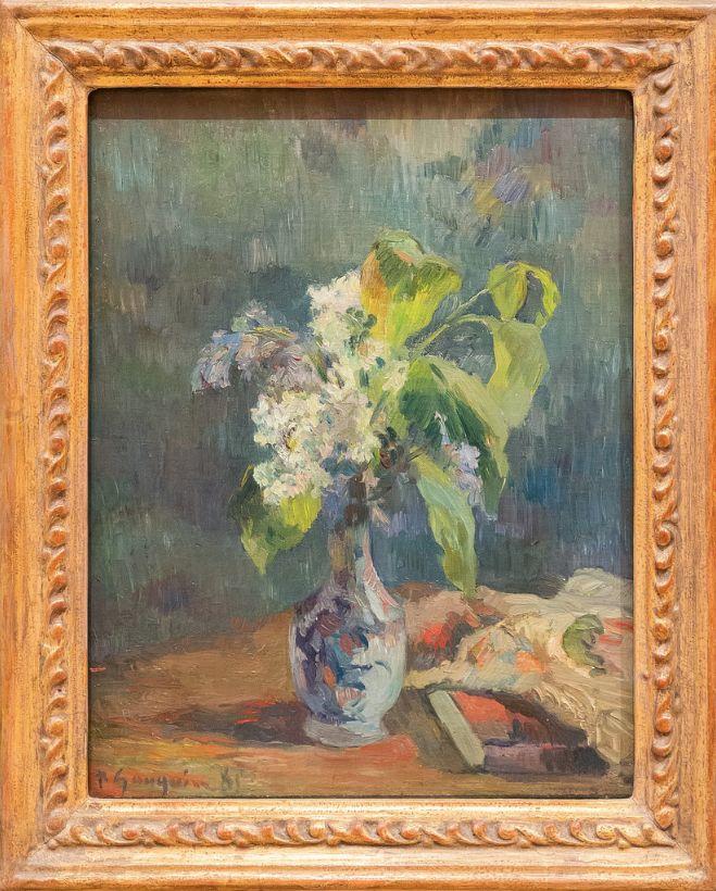 Paul Gauguin, Lilacs, 1885