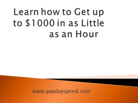 Paydayspeed.com Online is a standout amongst the most trusted American assets for loans for a long time. We have associated and keep on interfacing a large number of buyers with solid moneylenders.