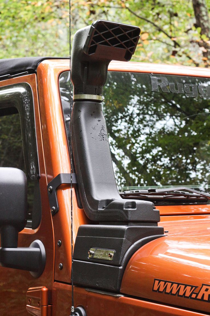 XHD Snorkel Kit, 3.6L/3.8L by Rugged Ridge ('07-'17 Jeep Wrangler JK)