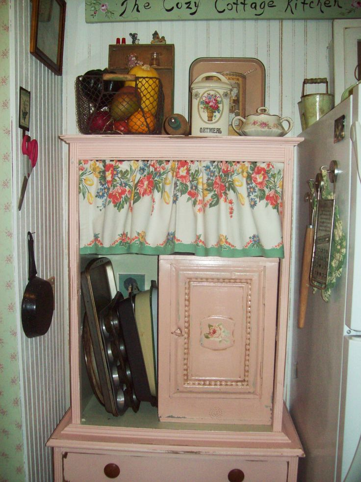 Tear Out Those Practical Kitchen Cupboards And Countertops And Put In These  Adorable Pieces Of Furniture For A True Cottage Kitchen.youu0027ll Be Surprised  How ...