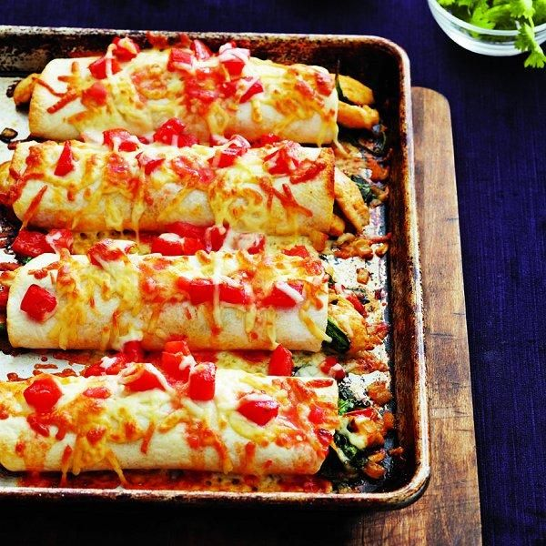 Find the best Chicken enchiladas recipe and more complete one-pot dinner ideas at Chatelaine.com.