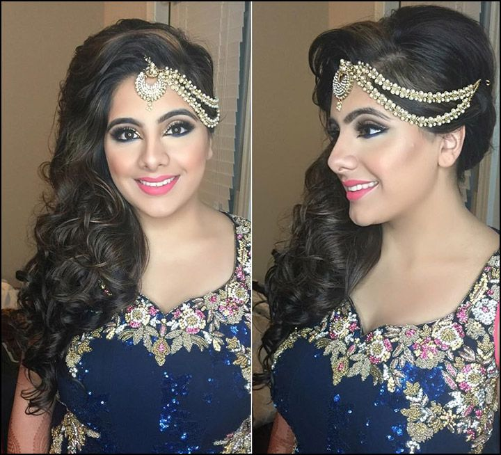 The 25 best indian bridal hairstyles ideas on pinterest indian indian bridal hairstyles the perfect 16 wedding hairdo pics junglespirit Images