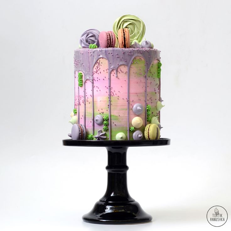 Весенний торт №1664 на заказ в Москве