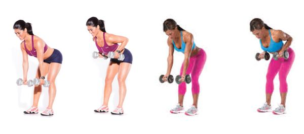 Workout for upper and mid back, really tough muscles