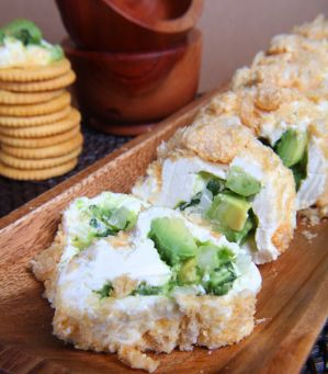 Avocado And Cream Cheese Roll (Rollo De Queso Y Aguacate) Recipes ...