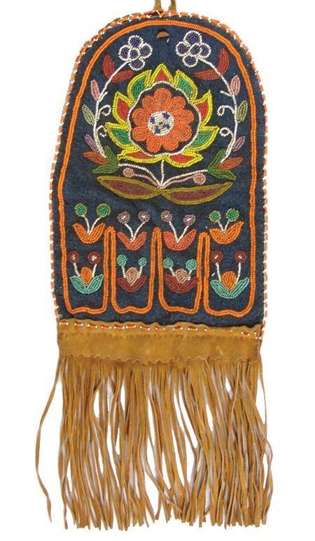 Tlingit Beaded Bag