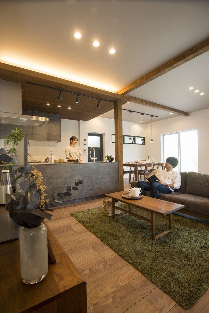 べトングレーでインダストリアルな暮らし 公式 清水工務店 富山
