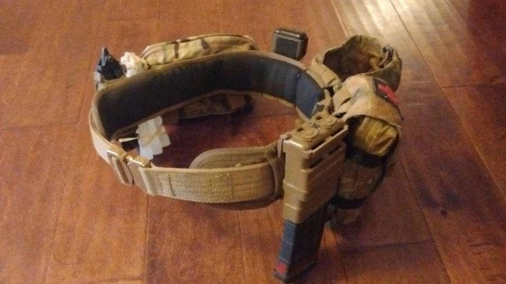 HSGI slim grip battle belt