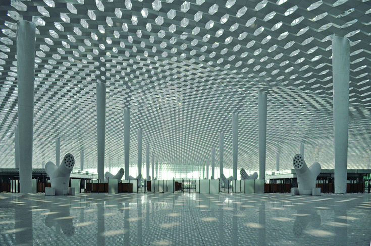 Gallery of Shenzhen Bao'an International Airport / Studio Fuksas - 17