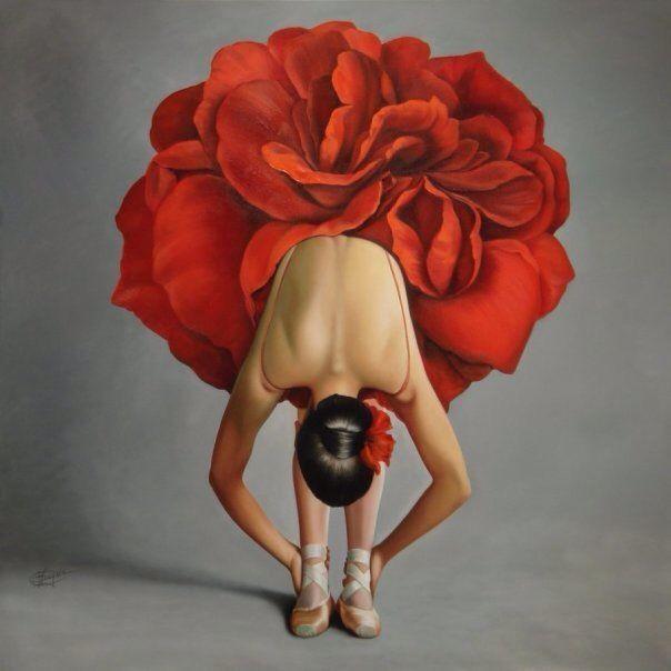 Red Poppy Ballet Tutu, @Idaho Falls School of Ballet, #tutus, #ballet