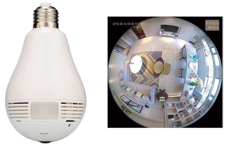 電球と思ったら...360度Wi-Fi防犯カメラ スマホで操作 : J-CASTトレンド