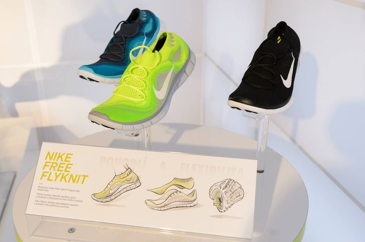 Nike Expo, Free Flyknit, We Run Prague 2013 #nike #expo #werunprague #running #shoe #freeflyknit #revoltapronike
