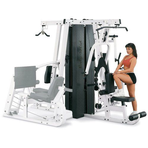 Body Solid EXM4000S Triple Stack Home Gym -- Click on the image for additional details.