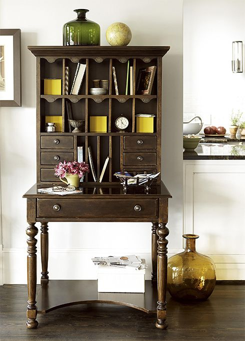 All Desk Offers So Much Storage For Every Person In The Family Even A Mail Slot Each Member Cordevalle Collection At Belfort Furniture
