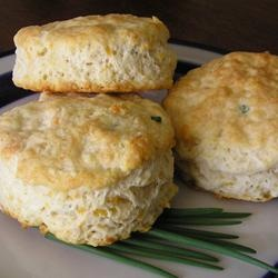 Chive Cheese Biscuits Allrecipes.com