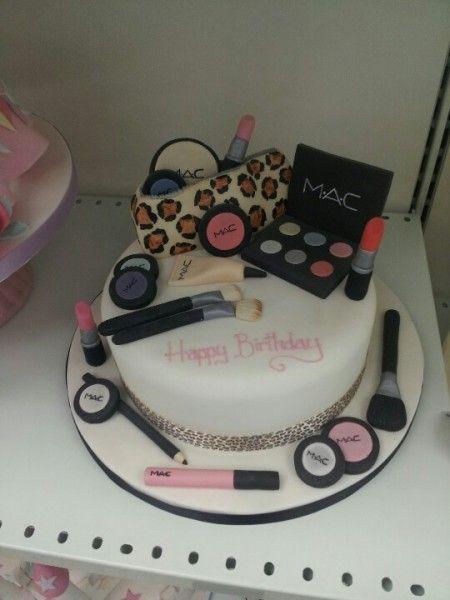 64 best MAC Makeup Cake images on Pinterest Makeup cakes Mac