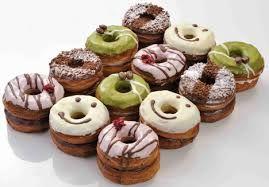 Cronuts. A croissant and a doughnut have a cronut...