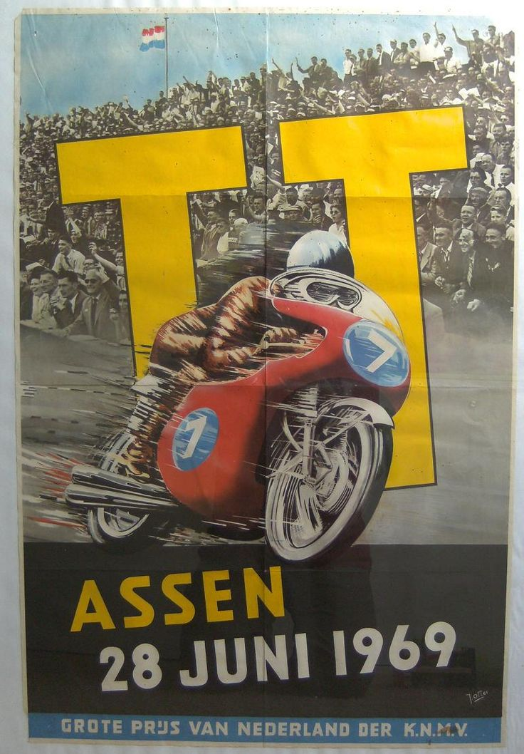 posters tt assen 24-juni-1969