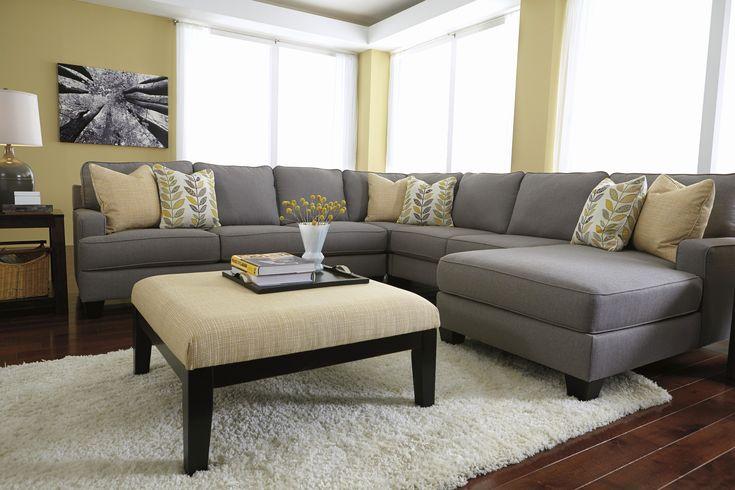 Die besten 25+ Extra large sectional sofas Ideen auf Pinterest - wohnzimmer ideen schwarzes sofa