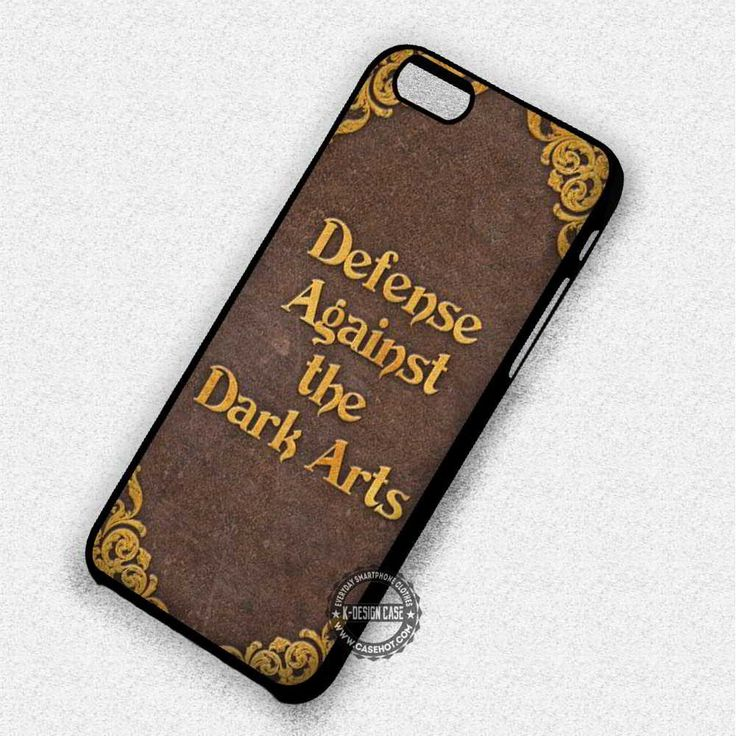 Defense Againts The Dark Harry Potter Book - iPhone 7 6 Plus 5c 5s SE Cases & Covers