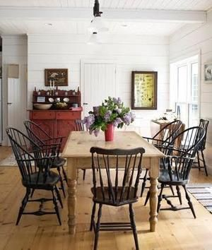 92 Best Windsor Style Chairs Images On Pinterest  Windsor Chairs Pleasing Old Fashioned Dining Room Sets Decorating Design