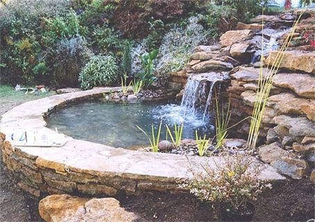 SimplyPonds... Water Gardens By Design ... Ruth Davis (owner): Gardens Ideas, Gardens Waterf, Patio Water, Water Gardens, Gardens Water Features, Dreams Ponds, Google Search, Water Wall, Small Gardens