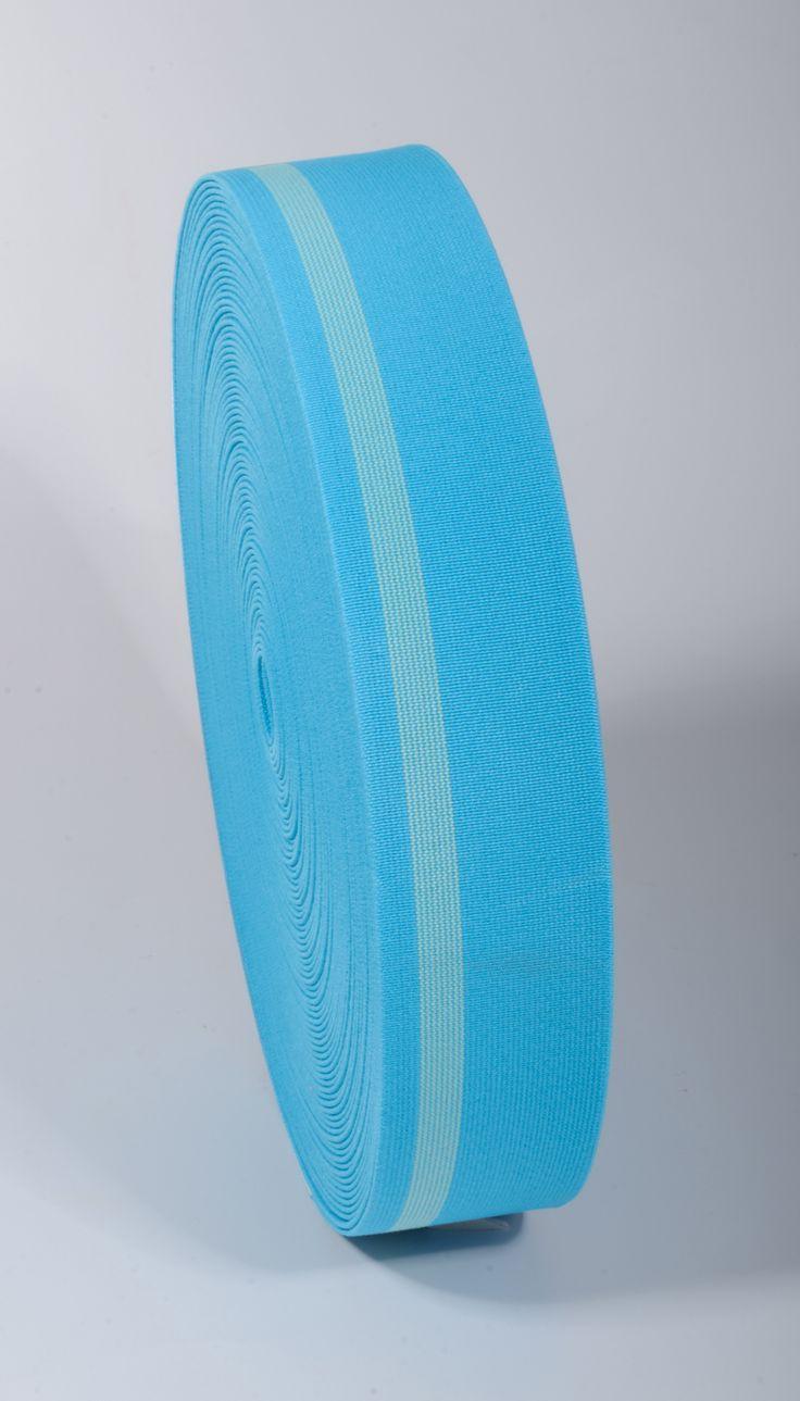 30 mm Shoe Elastics / 25 m / Striped