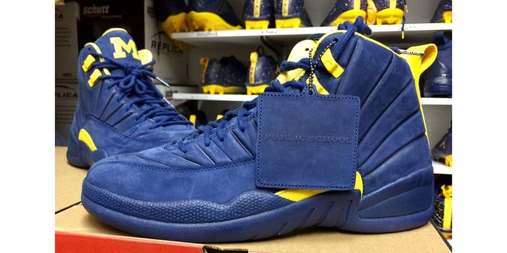 The PSNY x Air Jordan 12 Suits up as a Michigan Wolverines PE