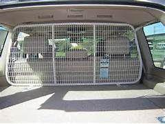 diy car barrier dog | Dog Gate/cargo barrier & top tether - Car Seat ...