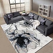 stuoie Camera Ufficio den salotto tavolino tappeto tappeto moderno tappeto minimalista tappetini da bagno ( Colore : K , dimensioni : 80*120 )