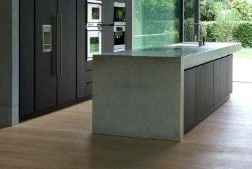 Küche Beton S - Betonblock