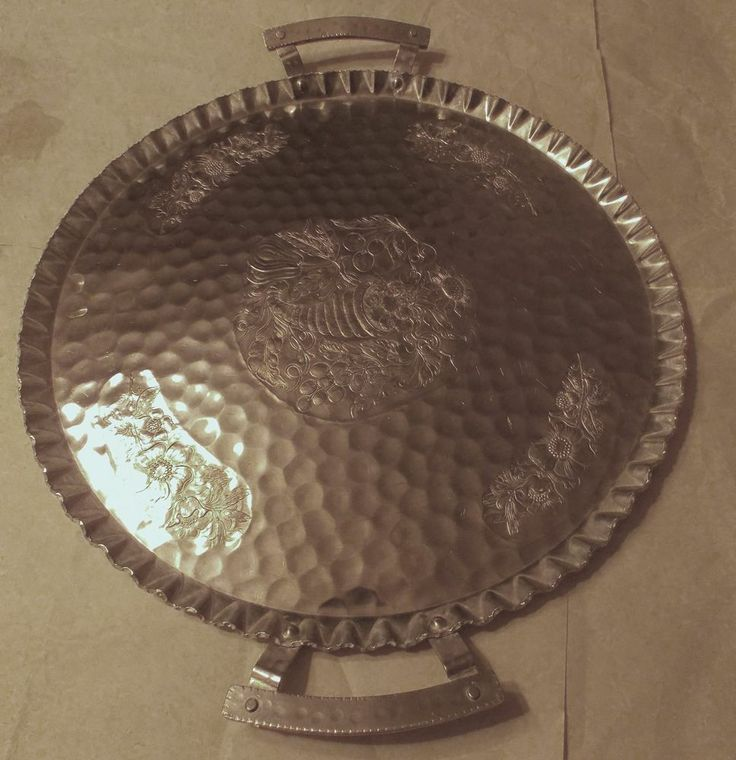 vintage aluminum trays 97 best images about vintage hammered aluminum on 3156